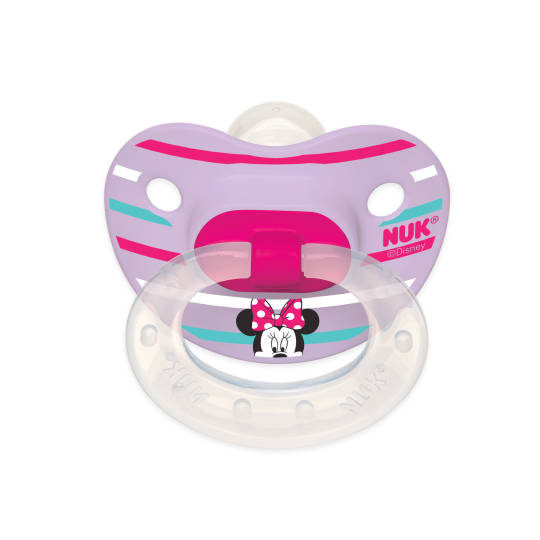 MINNIE MOUSE 2-Pack Orthodontic Pacifiers from NUK®, 6-18M - iCare