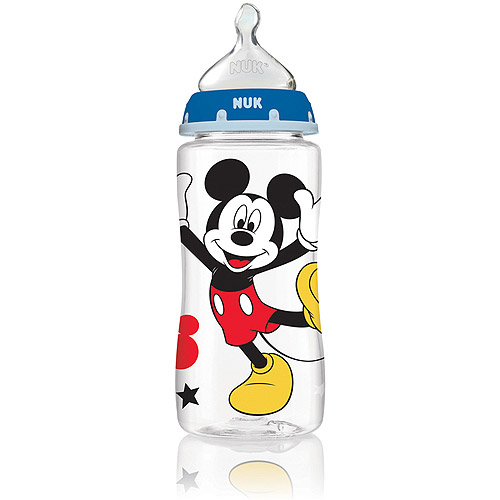 MICKEY MOUSE 10 oz 3-Pack Orthodontic Bottles from NUK® - iCare