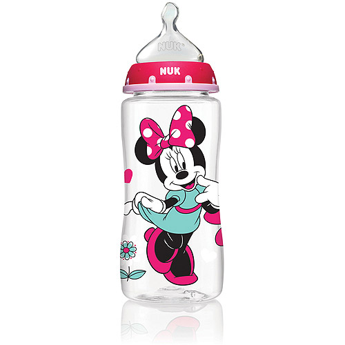 MINNIE MOUSE 10 oz 3-Pack Orthodontic Bottles from NUK® - iCare