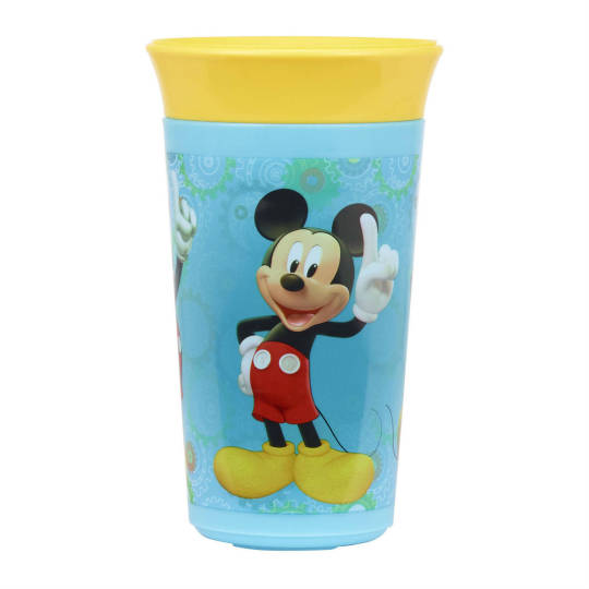 MICKEY MOUSE 9 oz Simply Spoutless Cup from The First Years - iCare