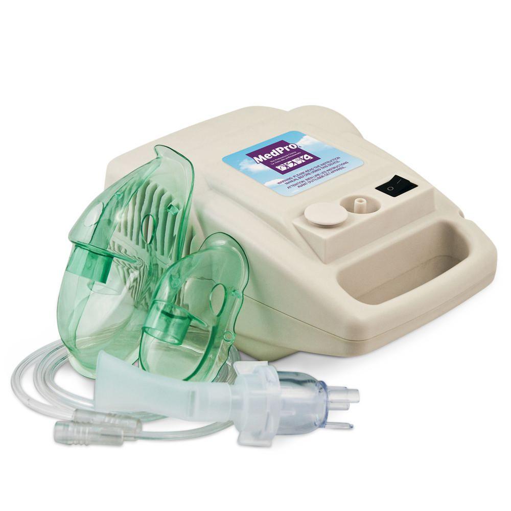 Compressor Nebulizer Kit with Child And Adult Masks - iCare